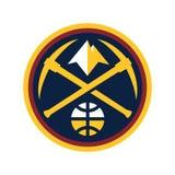 Redactie - Denver Nuggets NBA stock illustratie