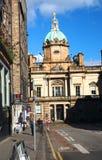 Redactiebank van het bureau Edinburgh Schotland Europa van Schotland Stock Fotografie