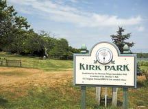 Redactiekirk park montauk new york royalty-vrije stock fotografie