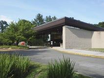 Redakcyjna biblioteka publiczna buduje Chappaqua, Nowy Jork, usa obraz royalty free