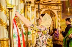 Redakcyjnego reportażu kopyto_szewski Lutsk stopnia dzwonkowa 11th szkoła średnia 14 30 05 15 Obrazy Royalty Free