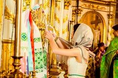 Redakcyjnego reportażu kopyto_szewski Lutsk stopnia dzwonkowa 11th szkoła średnia 14 30 05 15 Fotografia Stock