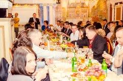 Redakcyjnego reportażu kopyto_szewski Lutsk stopnia dzwonkowa 11th szkoła średnia 14 30 05 15 Zdjęcie Royalty Free
