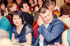 Redakcyjnego reportażu kopyto_szewski Lutsk stopnia dzwonkowa 11th szkoła średnia 14 30 05 15 Obrazy Stock