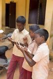 Redakcyjny dokumentalny wizerunek, indianin szkoła Obrazy Stock