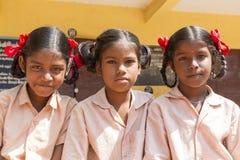 Redakcyjny dokumentalny wizerunek, portrety szkolni ucznie Zdjęcie Stock