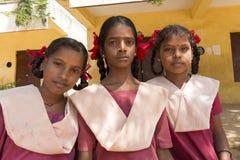 Redakcyjny dokumentalny wizerunek, portrety szkolni ucznie Zdjęcie Royalty Free