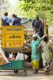 Redakcyjny illustrative wizerunek Gospodarstwo domowe odpady Zdjęcia Stock