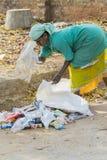 Redakcyjny illustrative wizerunek Gospodarstwo domowe odpady Obraz Royalty Free