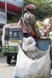 Redakcyjny illustrative wizerunek Gospodarstwo domowe odpady Zdjęcie Royalty Free