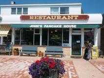 Redakcyjny John blinu dom Montauk Hamptons fotografia royalty free