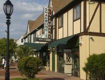 Redakcyjny Shagwong restauraci znak Montauk i przód obrazy royalty free
