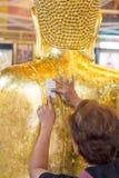 Redakcyjny use tylko: Samutprakarn, Thailand Październik 19, 2016: Peop zdjęcia royalty free