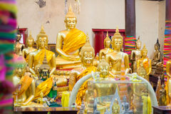 Redaktörs- bruk endast: Samutprakarn Thailand Oktober 19, 2016: Budd Royaltyfri Foto