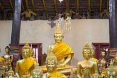 Redaktörs- bruk endast: Samutprakarn Thailand Oktober 19, 2016: Budd Arkivbild