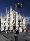 Redaktörs- Duomo Milan Italy Royaltyfri Foto