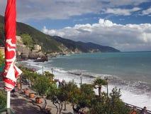 Redaktörs- Monterosso Cinque Terre Italy Royaltyfri Foto