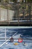 Redaktörs- plattformskovel på den privata klubban för sportövning Royaltyfria Bilder