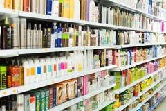 Redaktörs- skönhetsmedel för håromsorg Arkivfoton