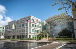 Redaktionell - Apple-Hauptsitze stockbild