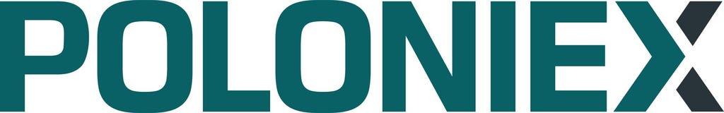 Redaktionell - Poloniex-Austauschplattform für Währungen lizenzfreie abbildung