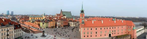 Redaktionelle Warschau-Ansicht Stockbilder