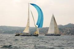 Redaktioneller Maxi Yacht Rolex Cup Stockbilder