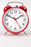 RedAlarmClock01 Photo stock