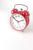 RedAlarmClock06 Stock Photo