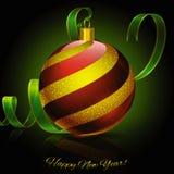 Redball рождества Стоковые Фото