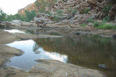 redbank gorge Австралии Стоковые Изображения RF