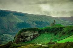 Redbay,安特里姆海岸,爱尔兰 免版税库存照片
