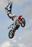 REDBOURN, UK - May 25: An unamed stunt rider from the Bolddog 'L Stock Image