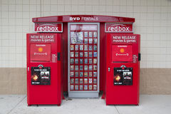 RedBox Royalty Free Stock Photo