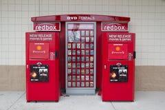 RedBox fotografia stock libera da diritti