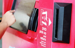 Redbox Automated Kiosk Stock Images