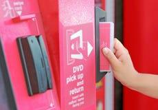 Redbox Deposit Slot Stock Image