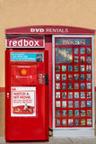 Redbox DVD Rental Kiosk Royalty Free Stock Images