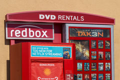 Redbox DVD Rental Kiosk Stock Photos
