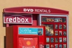 Redbox DVD wynajem kiosk Zdjęcia Stock