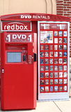 Redbox Film-MietKiosk Stockfotografie