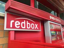Redbox Movie Rental Machines Stock Image