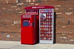 RedBox Retail Kiosk II Stock Photo