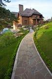 Redbrick cottage Royalty Free Stock Image