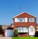 Redbrick English house Royalty Free Stock Image