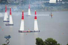 RedBull Air Race, Putrajaya Royalty Free Stock Images