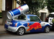 Redbull car Stock Photography