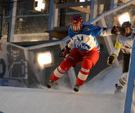 RebBull Crashed Ice Royalty Free Stock Image