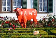 Redbull in Interlaken Zwitserland Royalty-vrije Stock Fotografie