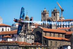 Redbull luftlopp Porto 2017 Arkivfoto